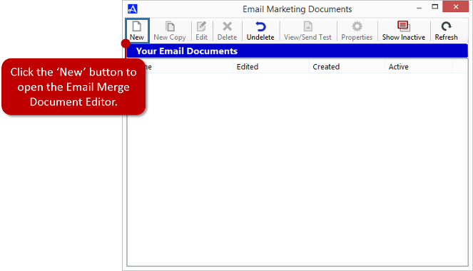 Email Marketing Documents